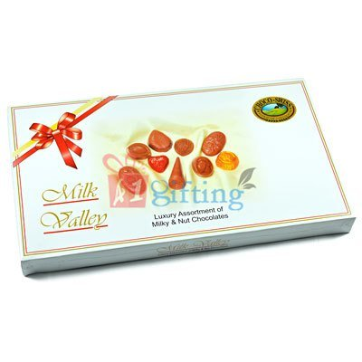 Milk Valley Luxury Assortment of Milky and Nut Swiss Chocolates