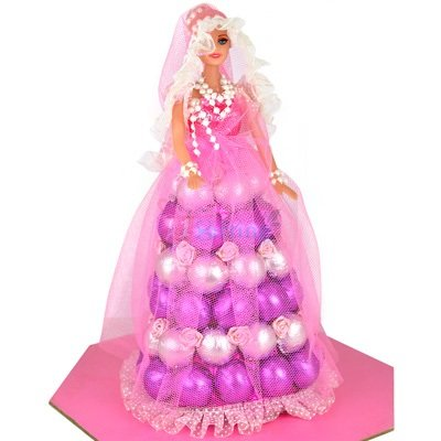 Purple Barbie Doll Chocolate to Gift