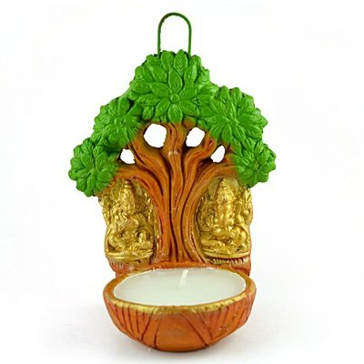 Laxmi Ganesha Tree Fancy Candle