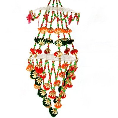Marvellous Chandelier with Colorful Flower