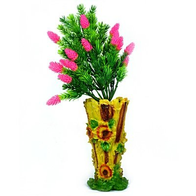 Amazing Flower Pot with Artificial Flowers Plant