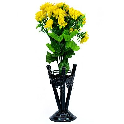 Yellow Flower Plant with Beautiful Flower Pot