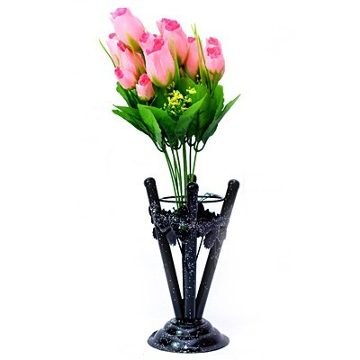 Pinky Glorious Flower Bouque with Pot