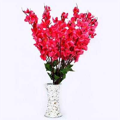 Beautiful Bouque of Pink Flowers with Pot