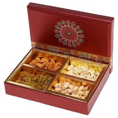 Dry fruit Box of 4 Type Dry fruits
