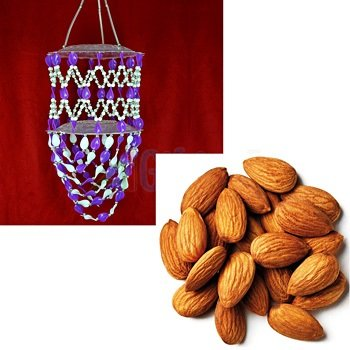 Almonds or Badam with Chandelier