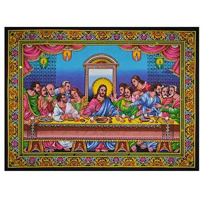 Lord Ishu Hand Painting for Wall Decorative