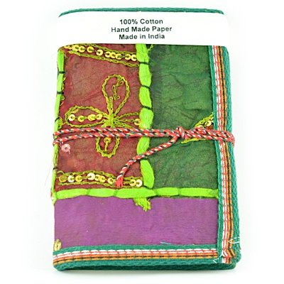 Handicraft Diary Cotton Cover Handicraft Papers