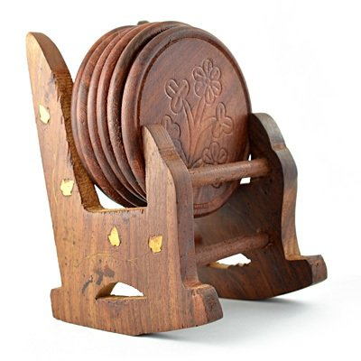 Chair Coaster Handicraft in Wooden