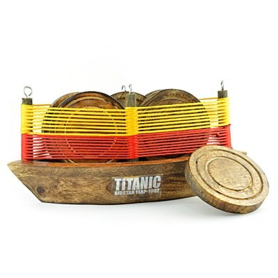Beautiful Wooden Titanic Coaster Handicraft Gift Item