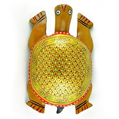Handicraft Good Luck Tortoise Colorful