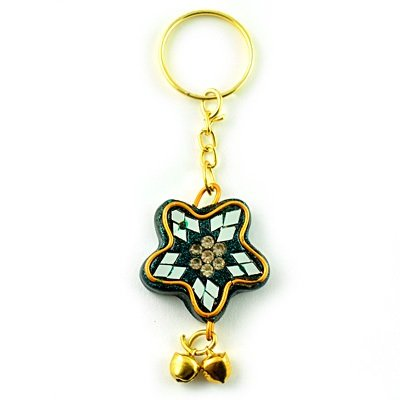 Star Handicraft Lacquer Key Chain