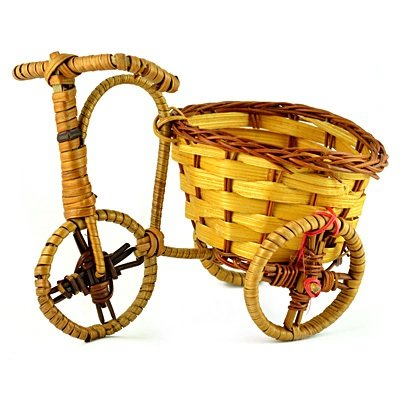 Bamboo and Wooden Rickshaw