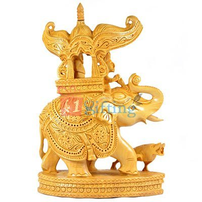 Decorative Ambabari-Palki Wooden Handicraft Gift