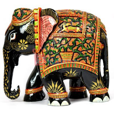Amazing Wooden Handicraft Elephant-Beautifully crafted