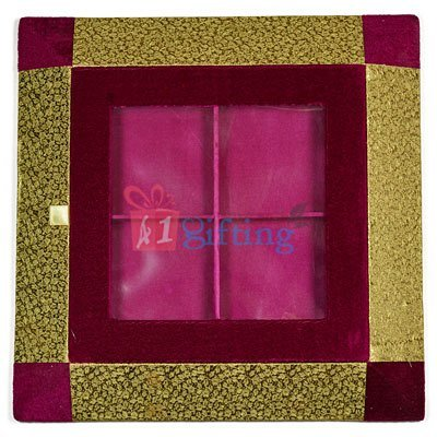 Handmade Paper Work Designer Dry fruit Box