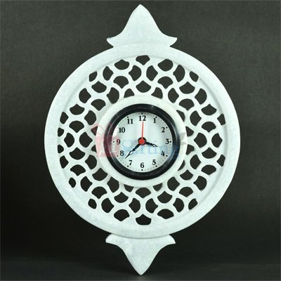 12x9 Inch Designer Marble Wall Clock