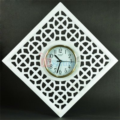 12x12 Inch Rich Look Marble Wall Clock