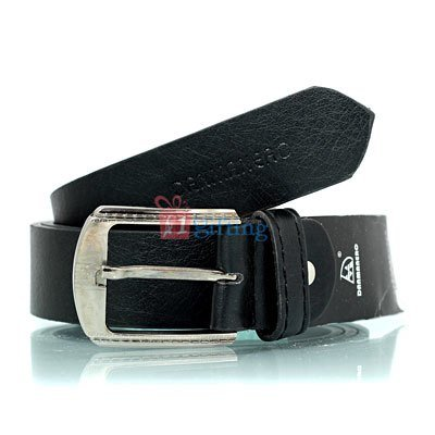Newly designed textured leather belt with stylish buckle