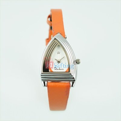 Fast Track Designer Dial Watch for Women with Slim Leather Strap
