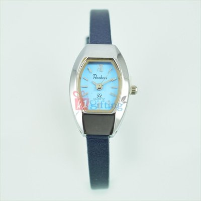 Rochees Fast Track Watch for Women with Slim Leather Strap